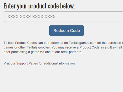 How do I activate my Telltale Games game?